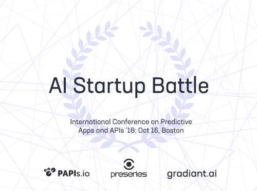An AI startup battle where the jury is… an AI!